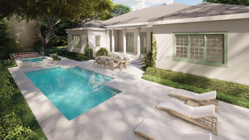 Pool & Landscape Rendering