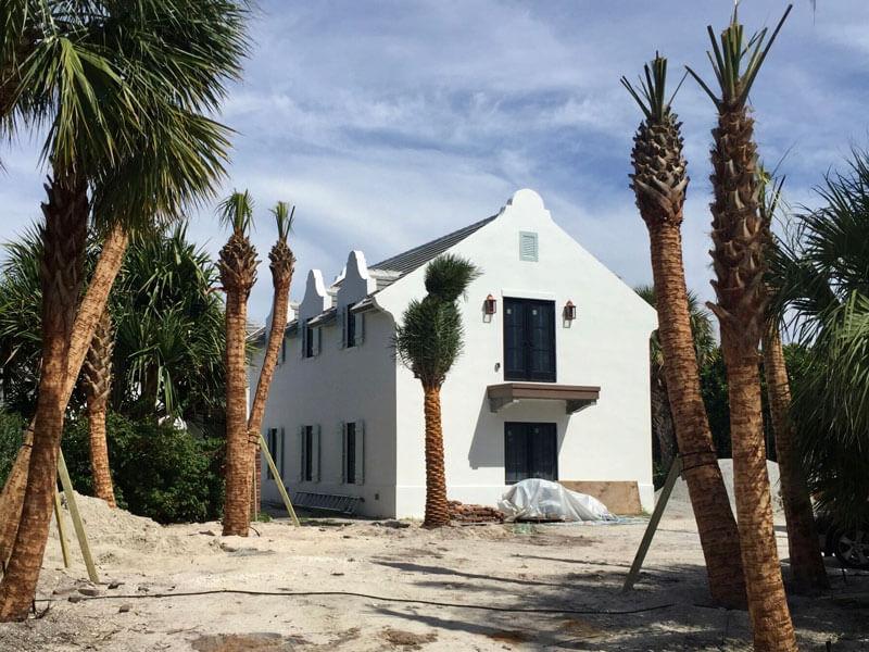 Residential Landscape Architecture Vero Beach - Before